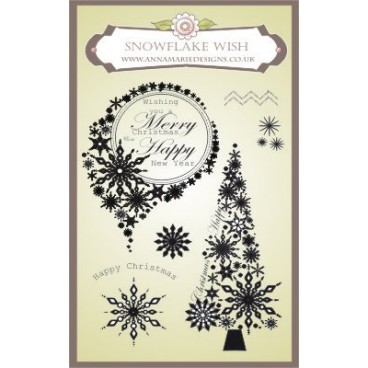 Anna Marie Designs Snowflake Wish