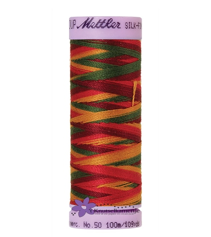 Kleurnr. 9851 Gemeleerd Silk Finish Multi