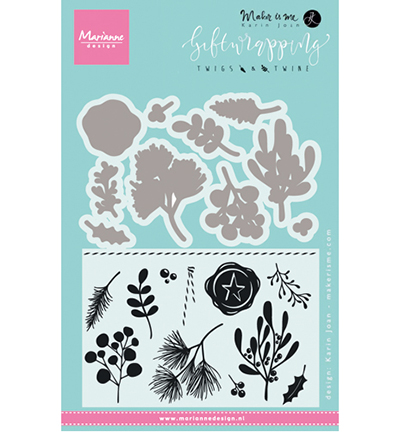 Marianne Design Giftwrapping: Twigs & twine