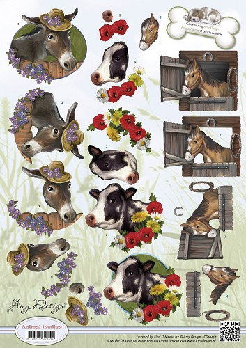 Amy Design - Animal Medley - Farm Animals