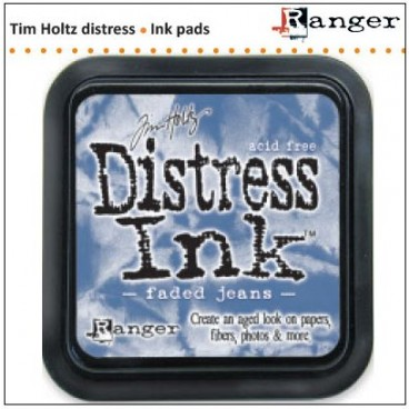 Faded Jeans  Distress Inkt  (Ranger) Mini
