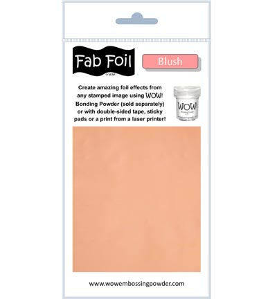 Fabulous Foil Blush