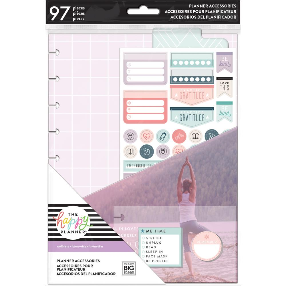 The Happy Planner Medium Accessories - Fitness/Wellness -  117/Pkg