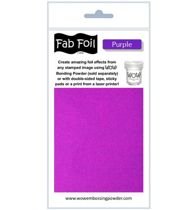 Fabulous Foil Purple