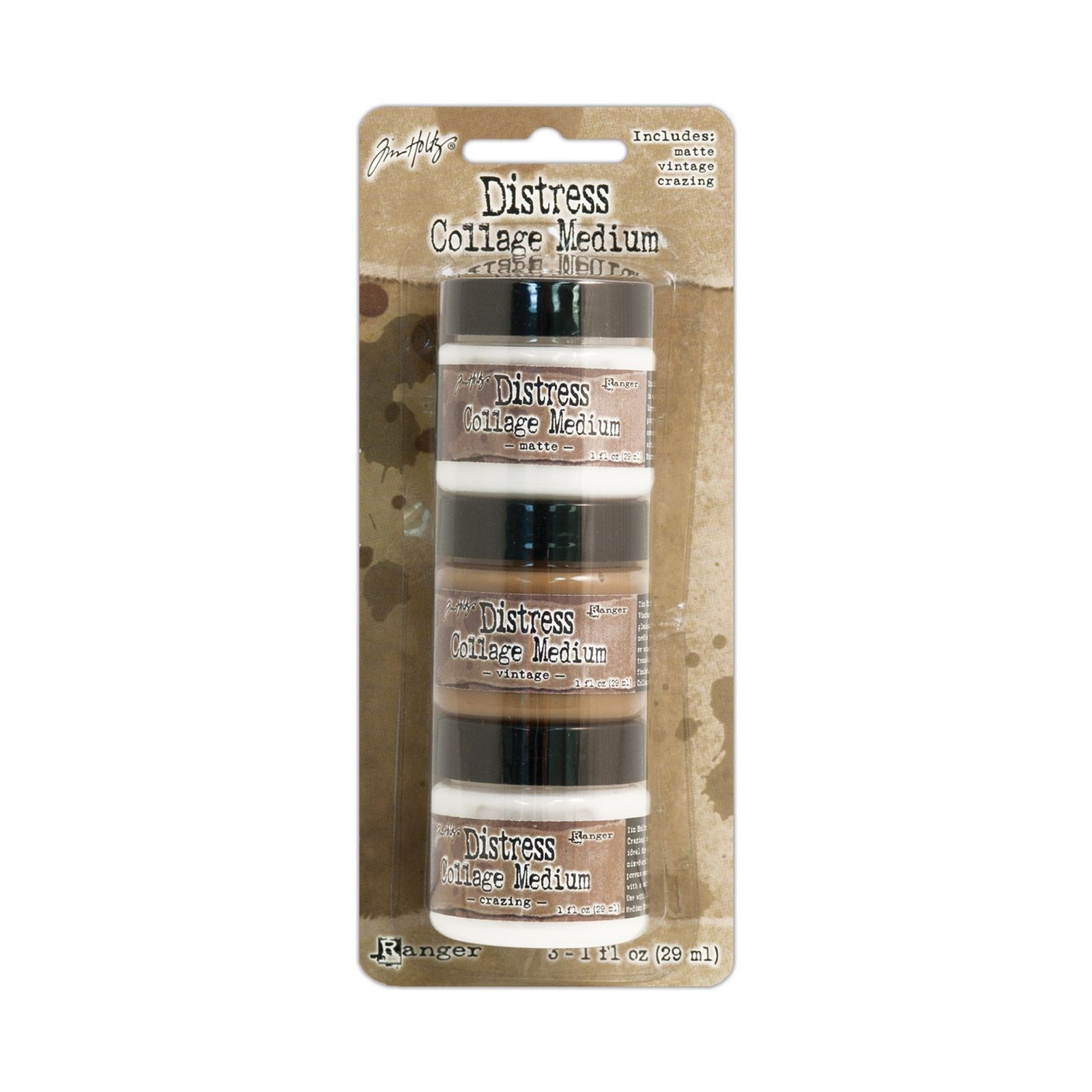 Ranger Industries - Tim Holtz - Distress Collage Medium - 1oz - 3 pcs