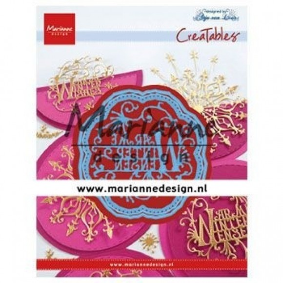 Marianne Design  Creatables Anja's warme winter wensen
