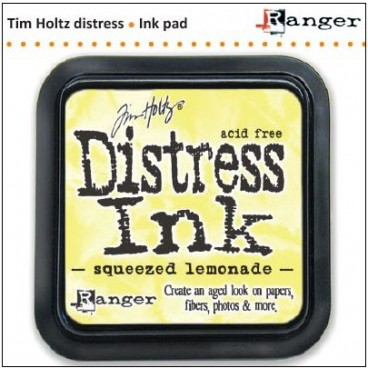 Squeezed Lemonade Distress Inkt (Ranger) Mini