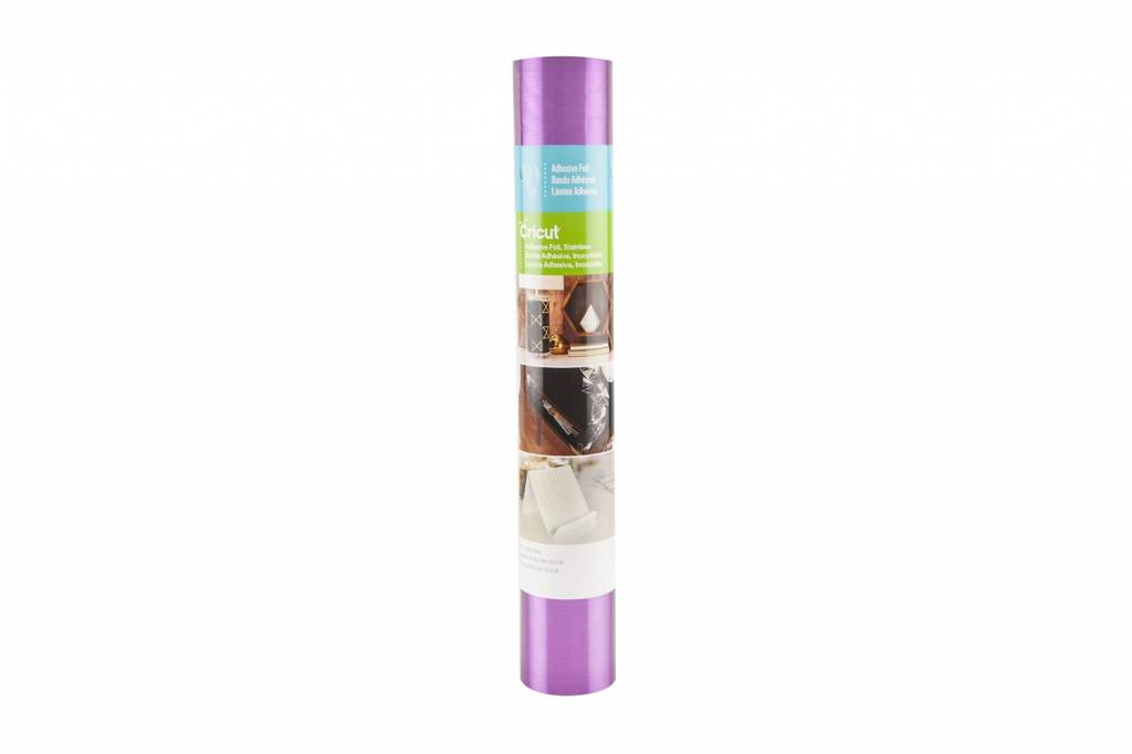 Cricut - Adhesive Foil - Stainless Purple - 12 in.x48 in. (1pcs)