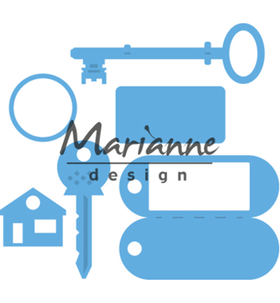 Marianne design - Key ring