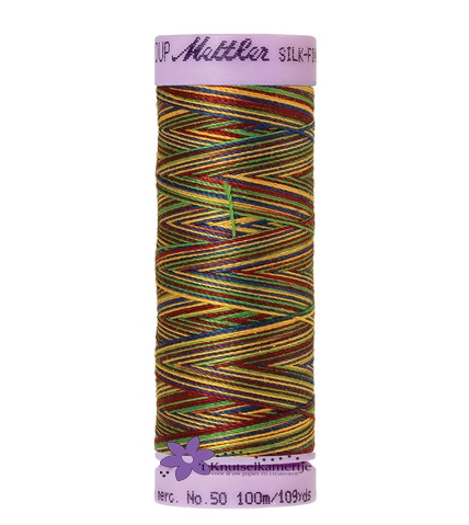 Kleurnr. 9840 Gemeleerd Silk Finish Multi