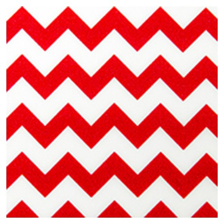 Flexfolie Chemica Big Red Chevron