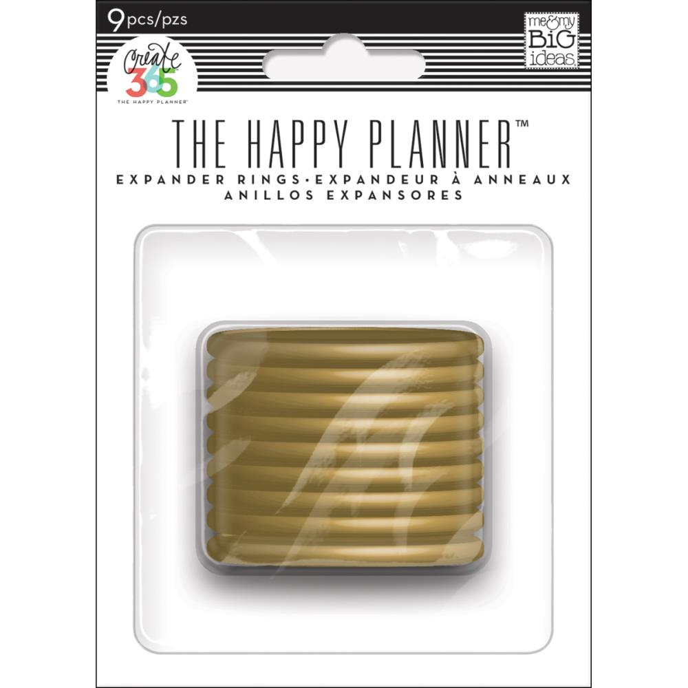 Happy Planner Discs Gold 1.75