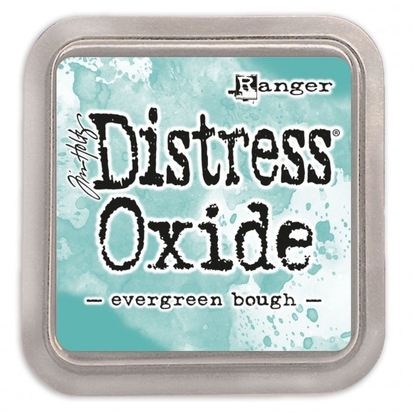 Tim Holtz distress oxide evergreen bough