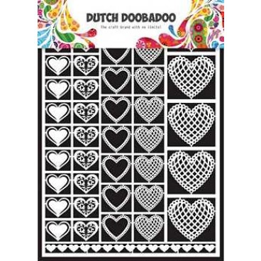 Dutch Paper Art  Hearts
