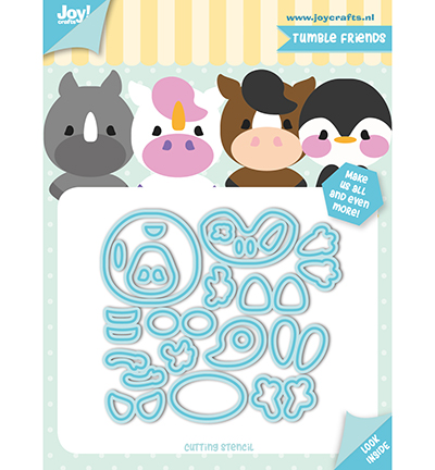 Joy!Crafts Snijstencil  Jocelijne - Tumble friends